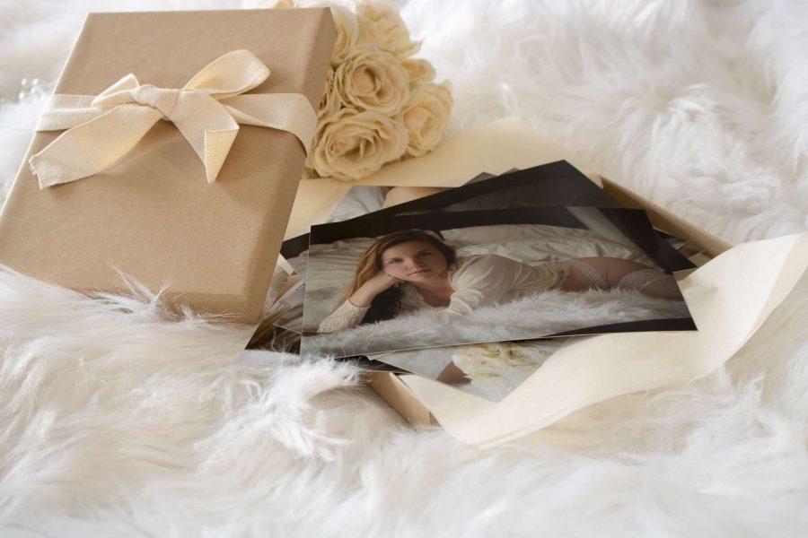 Gift package from L.E. Boudoir