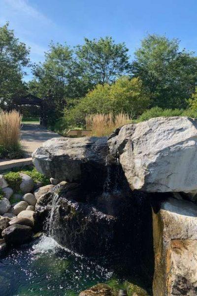 Waterfall at Congdon Gardens