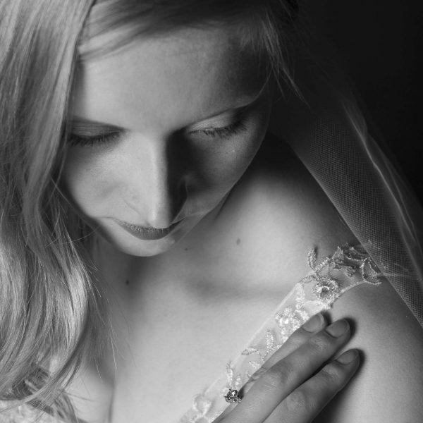 beautiful boudoir styled shot
