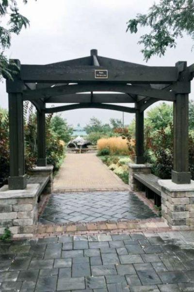 Pergola at Congdon Gardens