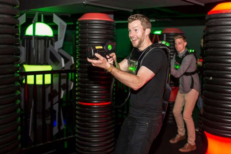 Lazer tag for your bachelor party
