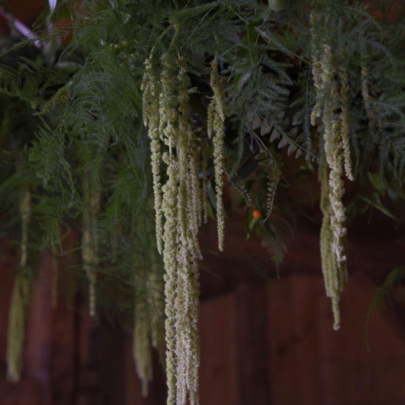 wedding-hanging-flower-installation