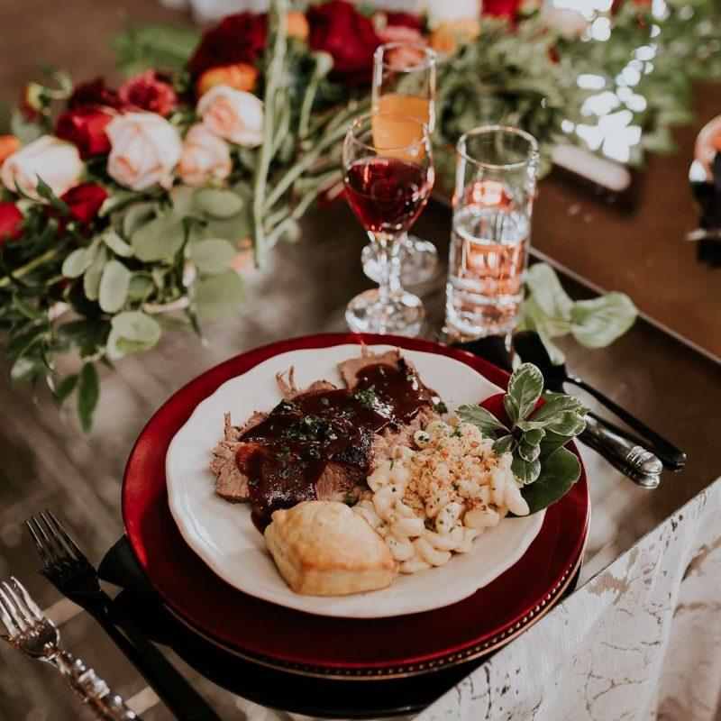 black-shoe-catering-wedding-reception