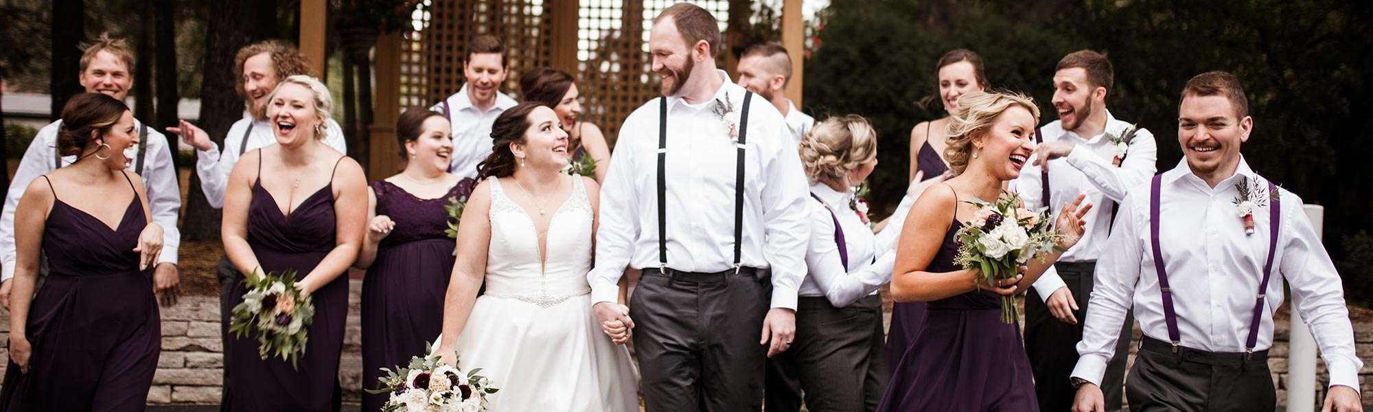 Danielle and Ryan marry at the Red Circle Inn in Nashotah WI