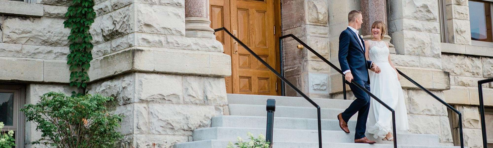 Haylie and Andy marry at Historic Courthouse 1893 in Waukesha