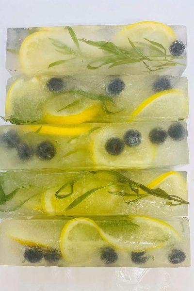 Blueberry lemonade ice by LushICE in Sheboygan, WI