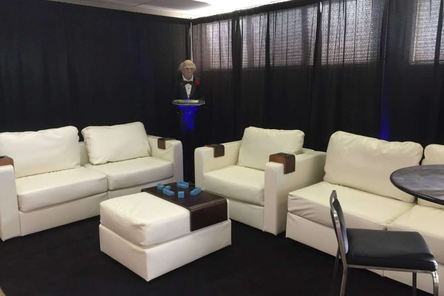 Lounge area by Area Rental & Sales of New Berlin, WI