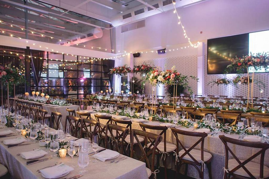 Elegant wedding reception by F Street Hospitality