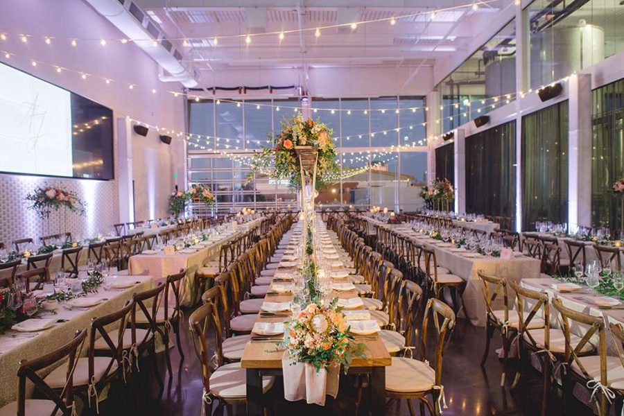 Wedding reception by F Street Hospitality