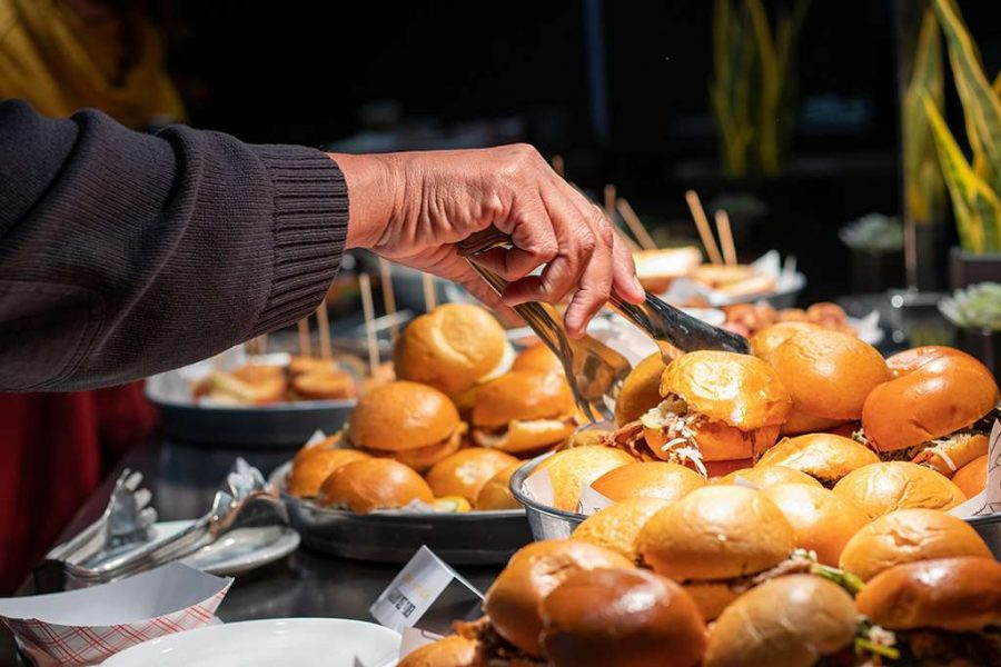 Slider bar by F Street Catering & Events
