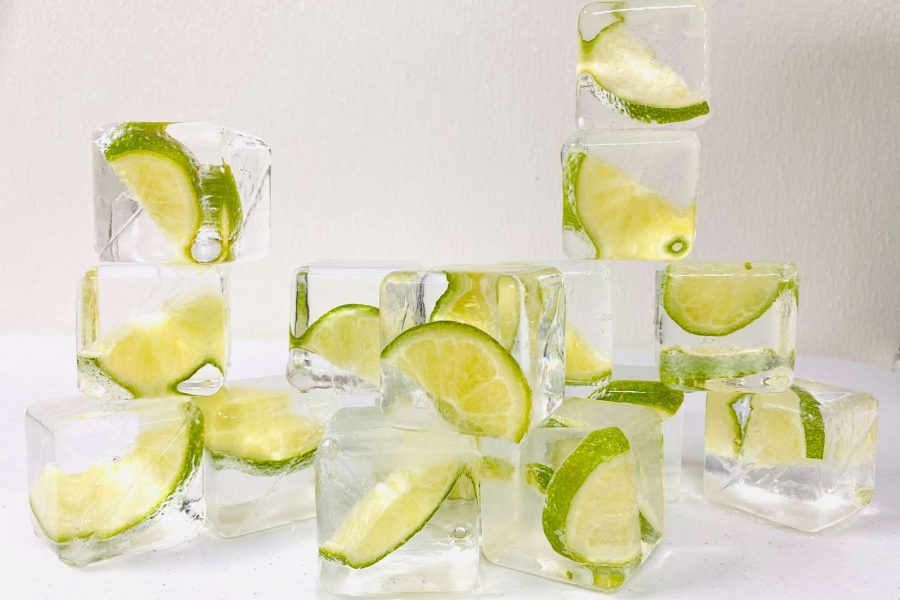 Craft lime ice cubes by LushICE