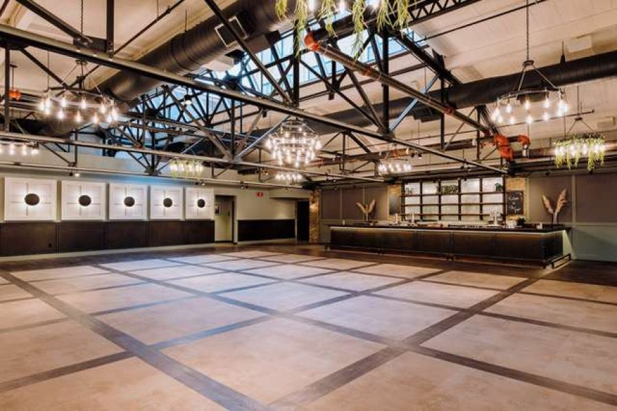 The Gage, a modern venue with an industrial vibe that seats 300 guests in West Allis, WI