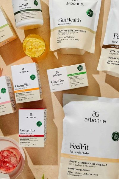 Arbonne products Gut Health products