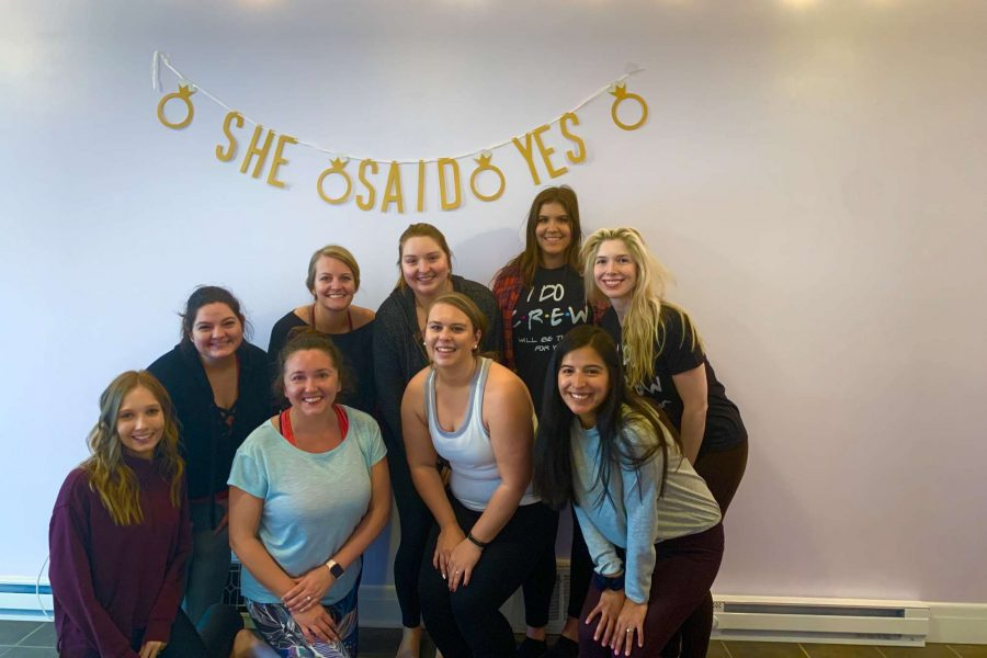 Private bachelorette or engagement parties by Washington Heights Yoga