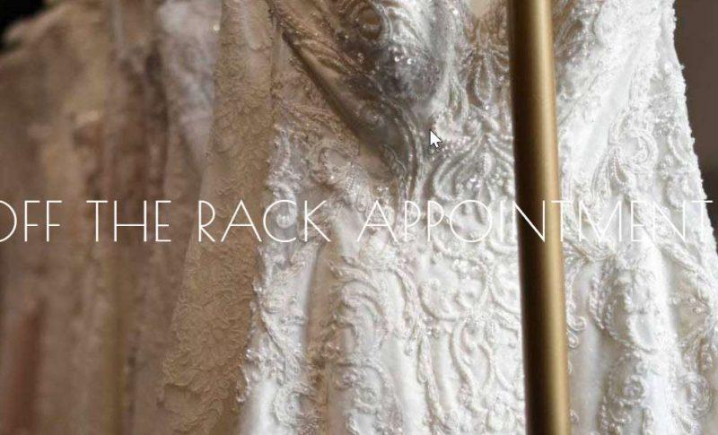 White Dress off the Rack