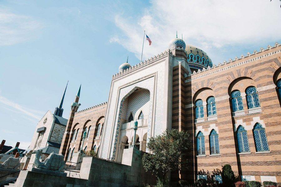 Exterior photo of Tripoli Shrine Center