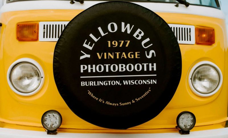 YELLOWBUS 1977 Vintage Photo Booth