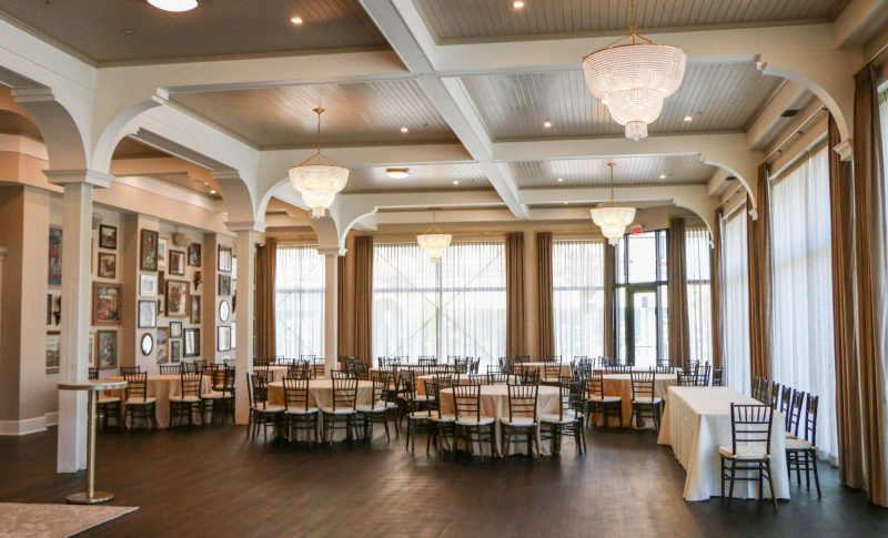 The ballroom at the George in the heart of Walker's Point section of Milwaukee