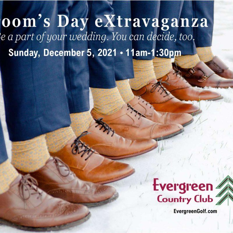 Grooms and groomsmen's feet