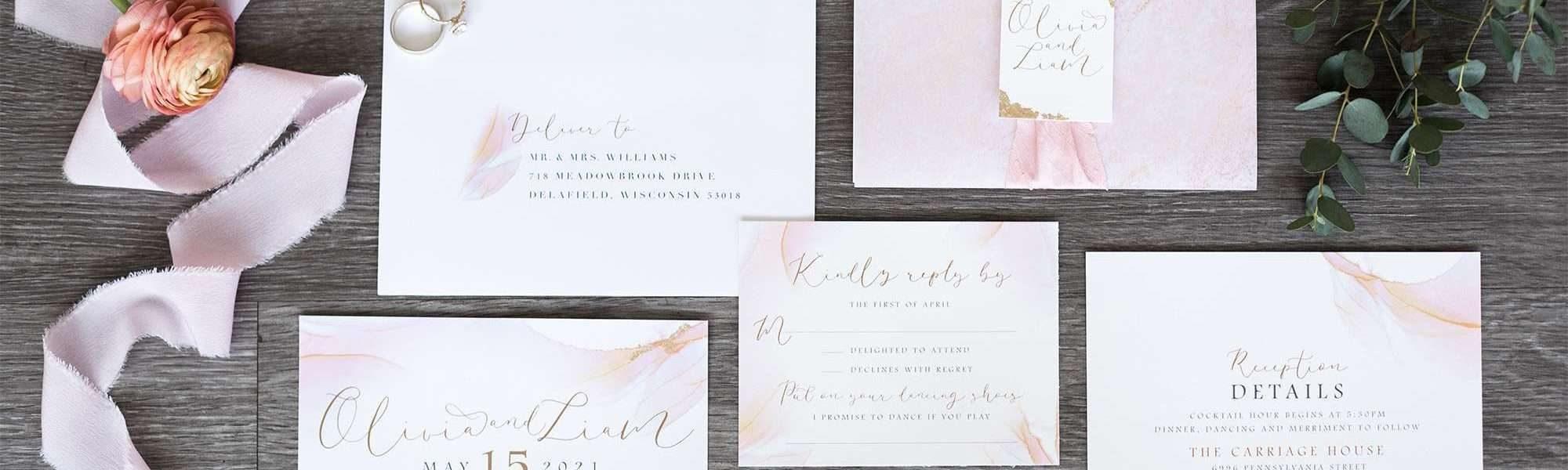 Paperwhites Invitation Suite