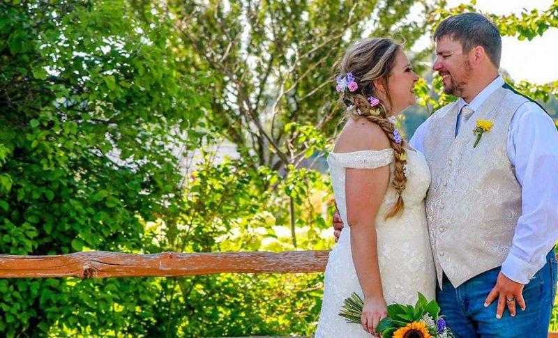 Bethany and Justin's wedding at Washington County Fair Grounds