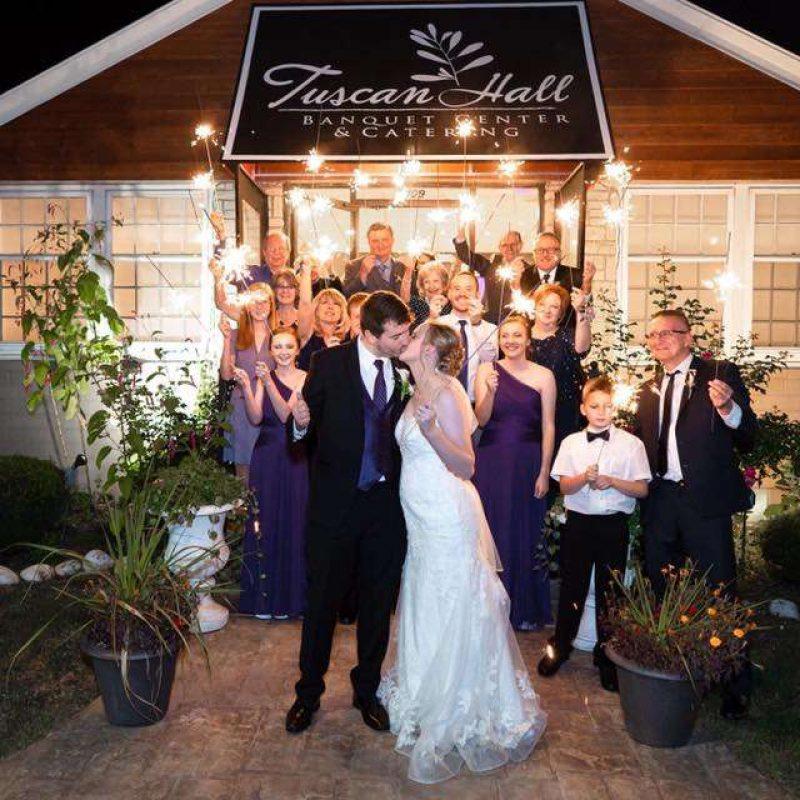Tuscan Hall Wedding